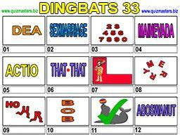 We are sharing with you today the answers for the game dingbats developed by peter rutherford. Dingbats in 2020 | Dingbats, Christmas picture quiz, Puzzles and answers