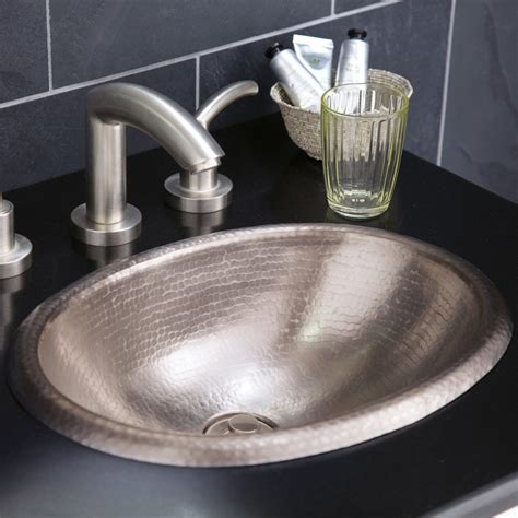 brushed nickel kitchen sink rolled baby classic brushed nickel bathroom sink native