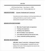 Carpenter Resume Examples Carpenter Resume Templates Carpenter Resume Template Free Samples Examples Format Sample Resume Carpenter Resume Template RESUMES DESIGN