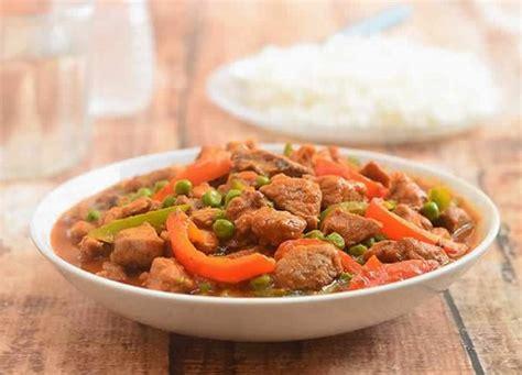cuisiner un sauté de porc saute de porc aux legumes cookeo un délicieux plat pour