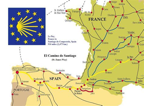 camino maps the camino de santiago cycling the way the province