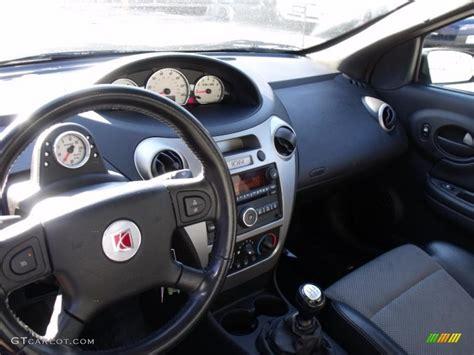 Black Interior 2006 Saturn Ion Red Line Quad Coupe Photo
