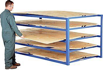 horizontal sheet rack sheet metal rack warehouse rack  shelf