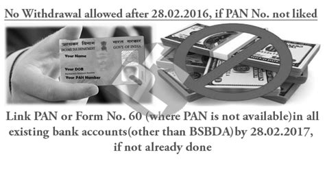 Obtain Pan Or Form No 60 From Account Holders By Feb 28