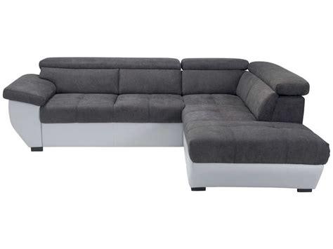 canapé d angle gris conforama canapé d 39 angle fixe droit 4 places speedway coloris