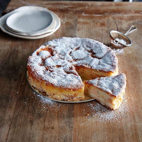 Apple Cream Torte Recipe   MyRecipes