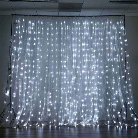 led curtain lights 600 led lights big wedding photography organza