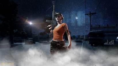Pubg Night Wallpapers Battlegrounds Games Gun Windows