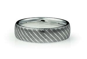 wedding band ring mens gents 5mm court engraved hatton