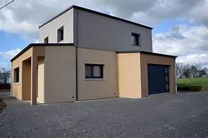 Crepi Maison Moderne. couleur crepi exterieur. maison moderne toit ...