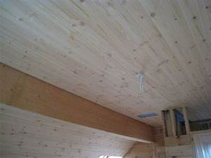 Lambris Bois Blanc Plafond Mzaol