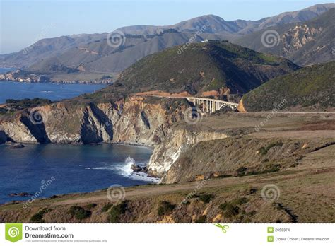 rimpel california no 1 california route no 1 stock images image 2058374