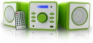 Kinder Mp3 Player : neu stereoanlage radio cd player mini kinder anlage mp3 usb aux uhr wecker gr n ebay ~ Sanjose-hotels-ca.com Haus und Dekorationen