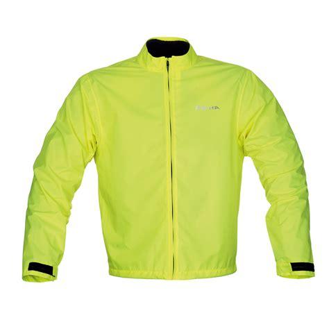 fluorescent bike jacket richa fluorescent rain hi viz waterproof motorbike