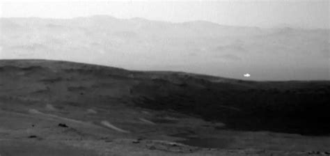 Mars Light by Mysterious Light Shows Up In Mars Photograph Unexplained