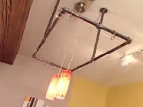 kitchen pan storage ideas how to build an industrial pot rack how tos diy