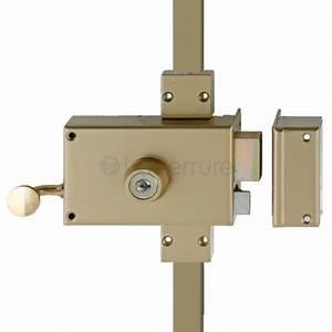 Serrure Porte 3 Points : serrure de porte heracles sr 3 points en applique ~ Dailycaller-alerts.com Idées de Décoration