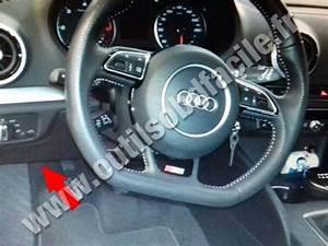 Location Audi A3 : einbauort der obd2 stecker in audi a3 8v 2012 klavkarr by outils obd facile ~ Medecine-chirurgie-esthetiques.com Avis de Voitures