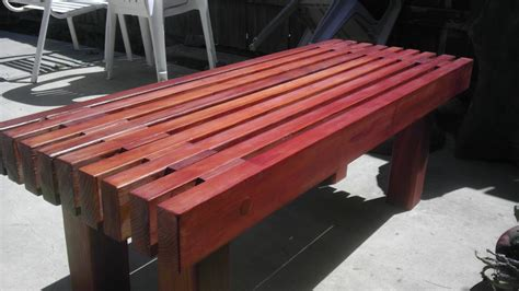 and ted buy a house diy redwood garden bench