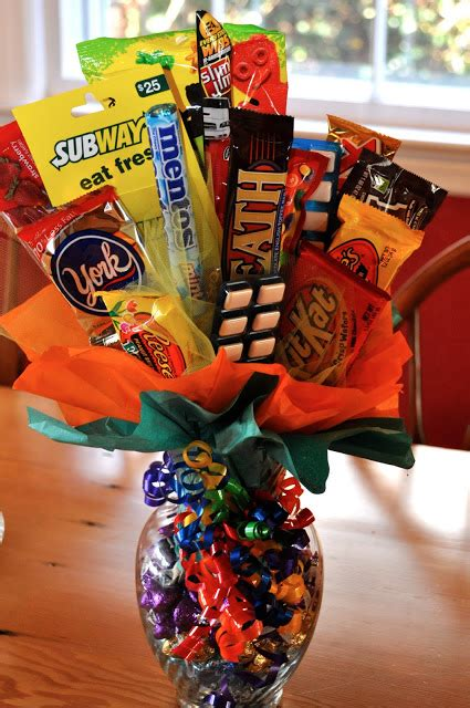 creative candy bouquets     mouth water