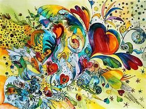 Bilder Auf Leinwand Kaufen : bild auf leinwand kaufen fineartprint 10484754 chrisple abstrakt aquarell bunt fr hling herzen ~ Markanthonyermac.com Haus und Dekorationen