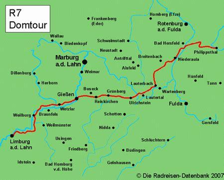 Lahn Radweg Karte