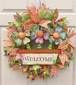 449 Best Spring Wreaths Images On Pinterest Spring