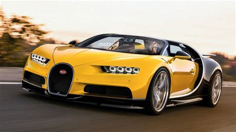 Bugatti Chiron Roadster by Chiron Rendered As The 1 500 Hp Roadster Bugatti Won T Make