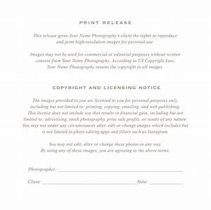 photographer print release form pinterest With wedding photo release form