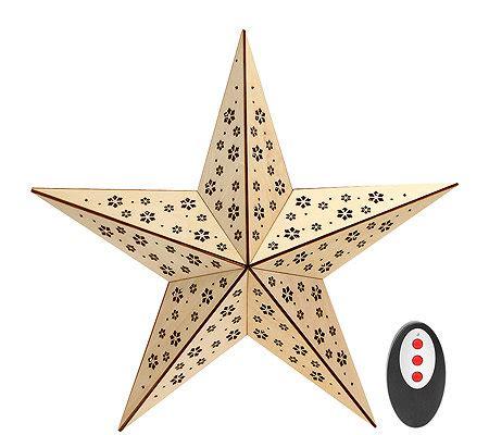 weihnachtsstern mit licht lumida weihnachtsstern mit led beleuchtung timer fernbedienung 216 ca 38cm page 1 qvc de
