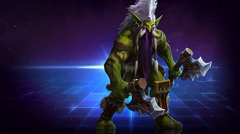 heroes   storm welcomes world  warcrafts troll