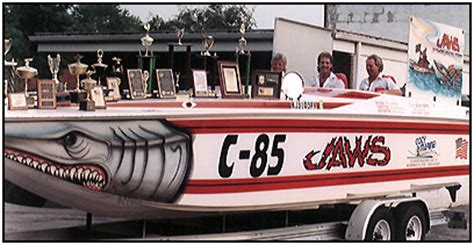 Jaws Race Boat by Jaws Offshore Racing Team