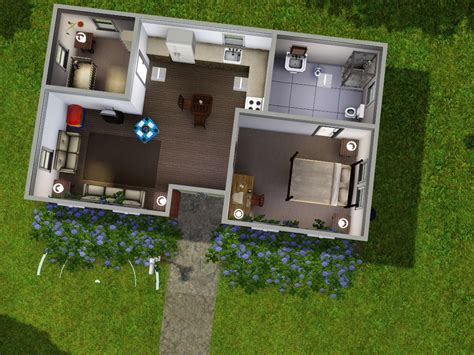 home plans for small lots starter homes for sims 3 at my sim realty