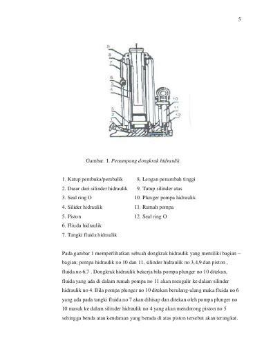 Cara Memperbaiki Pompa Oli Sing R by Cara Kerja Dongkrak Hidrolik Dan Memperbaiki Dongkrak Hidrolik