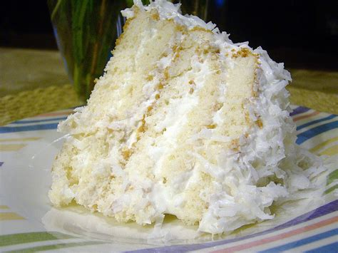If you are using a standing mixer, you can use the same bowl if you make the layers in the order listed—just then sprinkle the blueberries on the cream cheese and the streusel on the top of that. Easy Coconut Refrigerator Cake | KeepRecipes: Your Universal Recipe Box