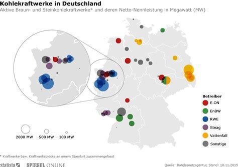 kohlekraftwerke  deutschland infografik der woche