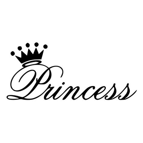 floor and decor corona princess script die cut decal car window wall bumper phone