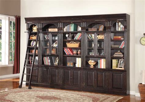 library wall units bookcase parker house venezia library bookcase wall unit e ph ven