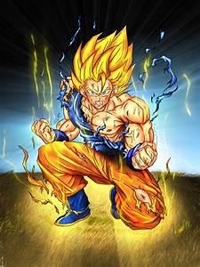 Dragon Ball Z Kai Goku Super Saiyan Wallpaper ...