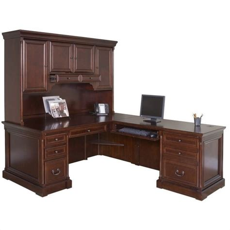 executive desk with hutch martin furniture mount view right hand executive desk with