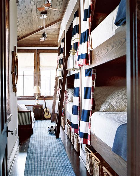 nautical bunk beds how to decorate with a white and blue combo
