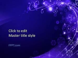 Powepoint Themes Free Winter Wonderland Powerpoint Template Free