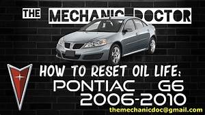 2007 Pontiac G6 Oil Pressure Light