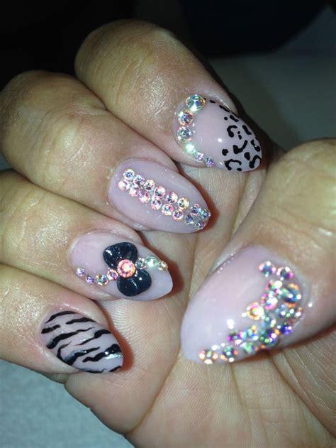almond nails design almond nail design hair nails makeup