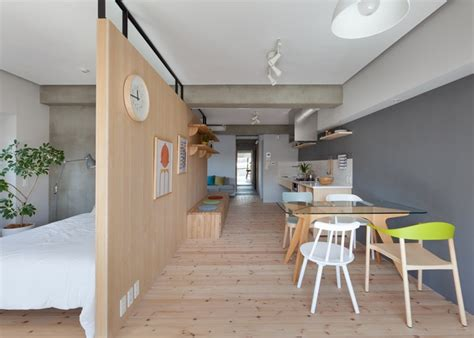 Two Apartments In Modern Minimalist Japanese Style Includes Floor Plans two apartments in modern minimalist japanese style