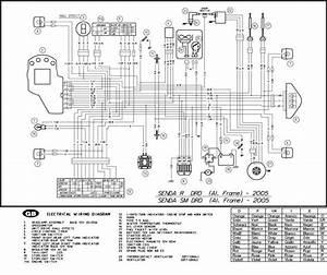 Derbi Senda 50 Wiring Diagram
