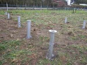 les fondations d39une maison bois With maison bois sur plots 0 fondation pneu homedepaille