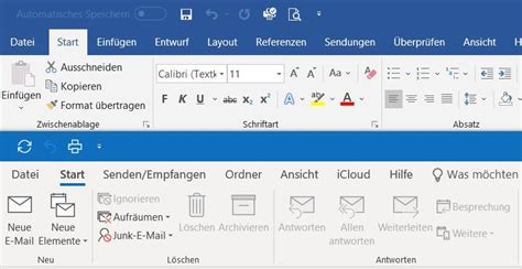 Office 365 Outlook Version Support by Office 365 Neue 252 Leiste
