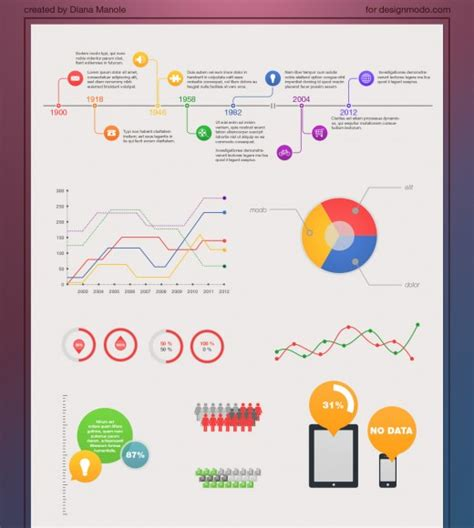free infographic 187 free infographics psd templates best