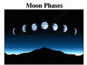 Astronomy  Moon Phases Lesson
